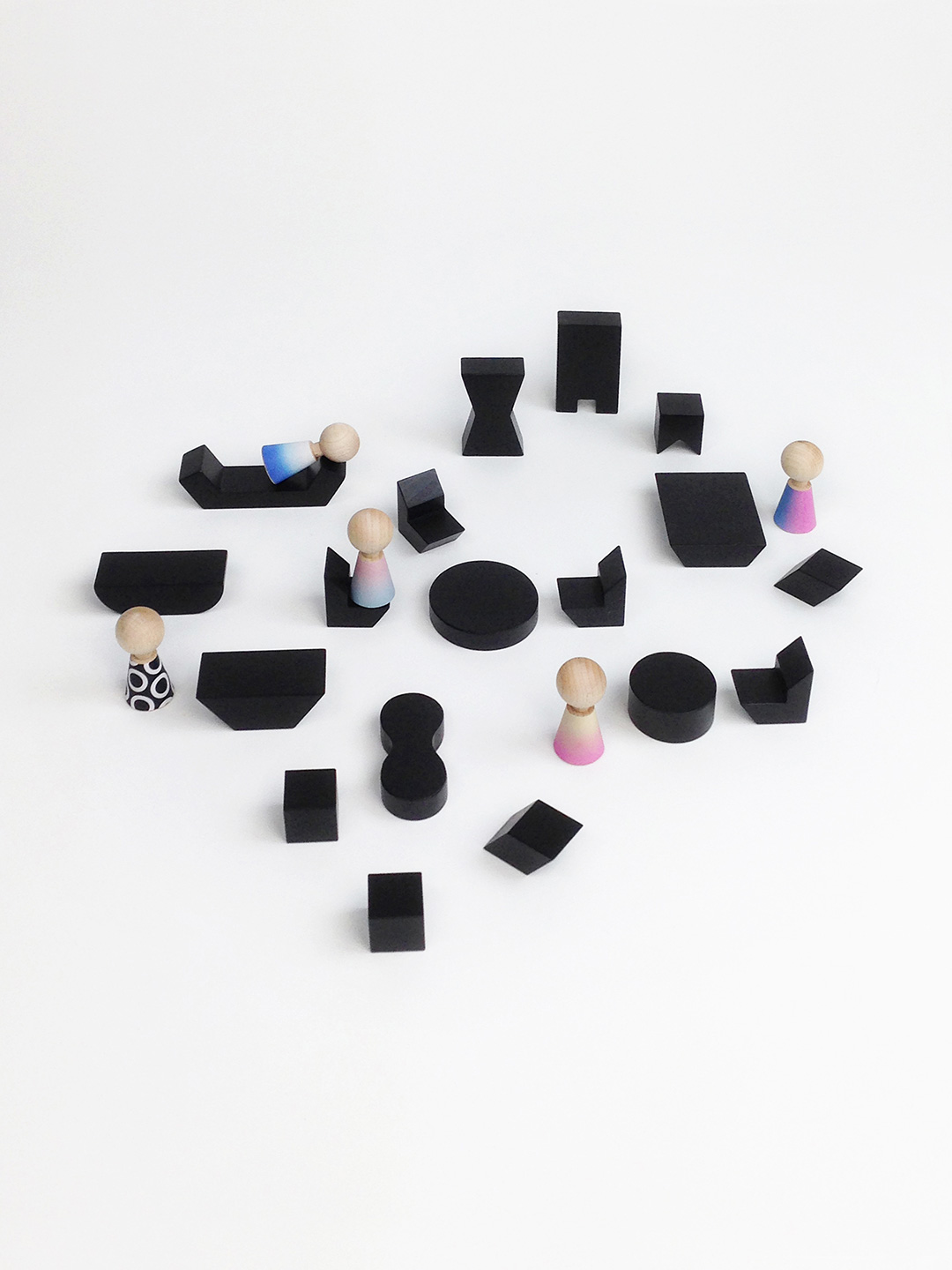 Mini Furniture - Black