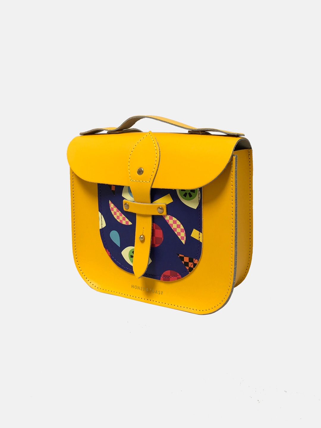 Rocket Scooter Satchel - Make A Face