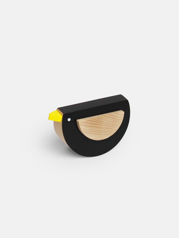 Kos The Wooden Bird by Kutulu - contemporary czech design wooden toy