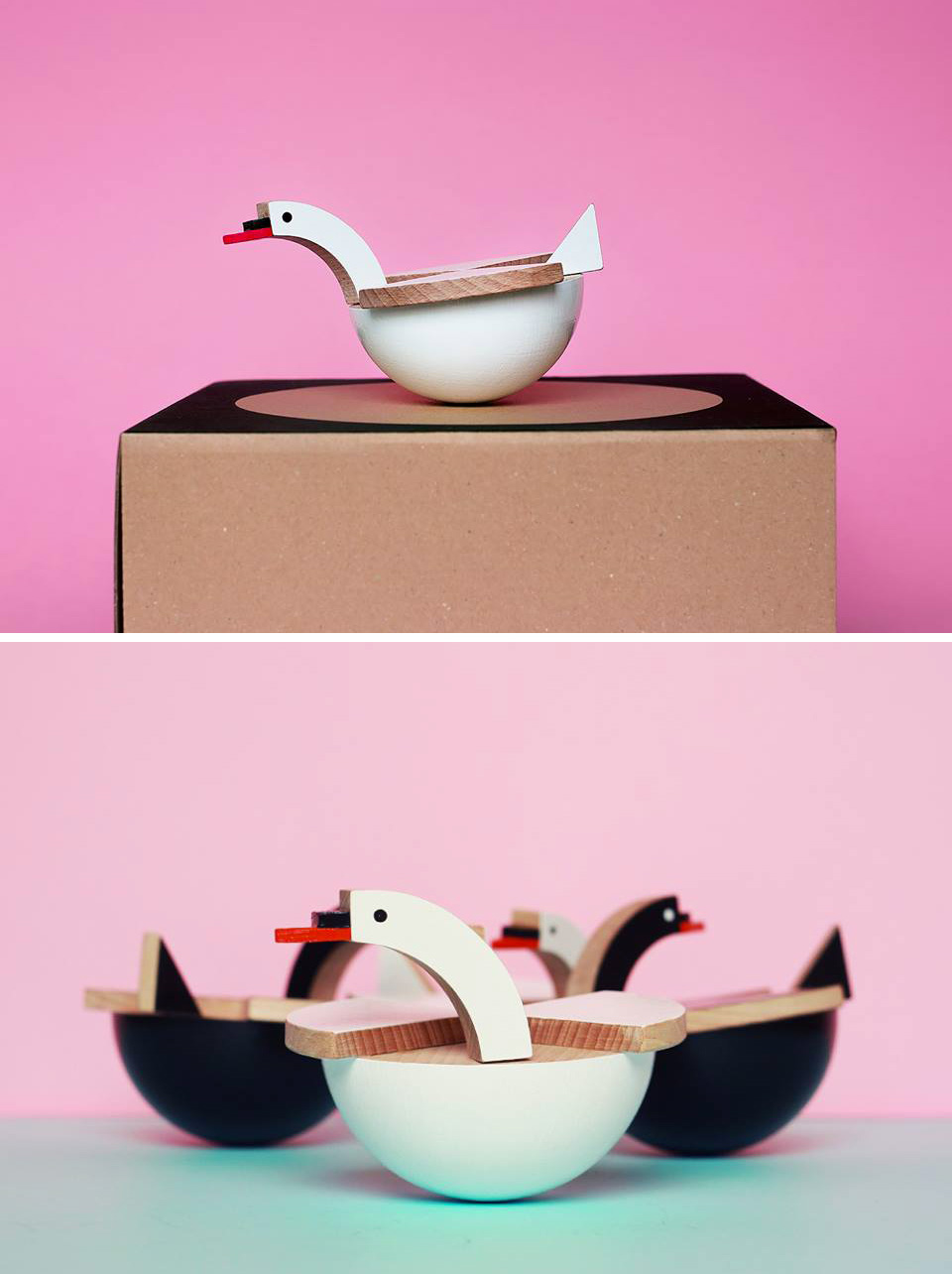 Kutulu Wooden Toys- Contemporary Czech Toy Design, Wooden animal toys