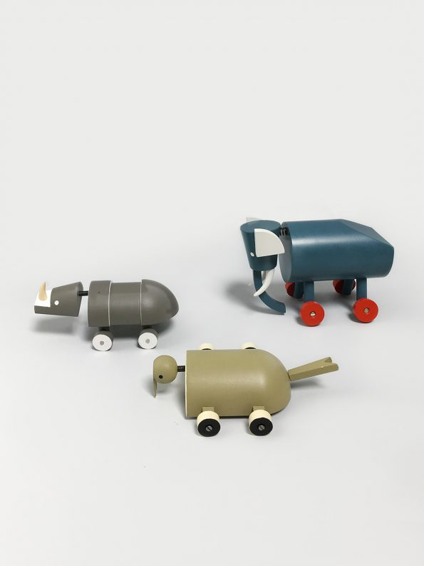Early 20th Century Czech Toy Design - Wooden Toys by Ladislav Sutnar