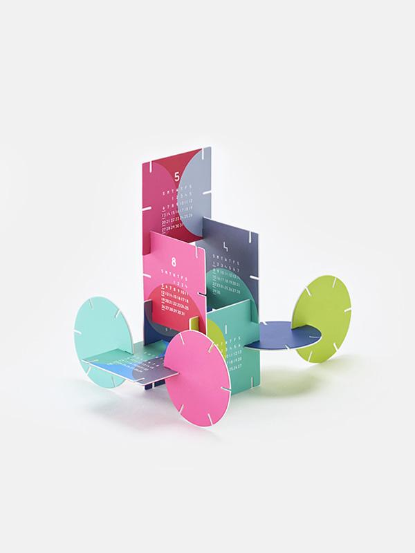 Puzzle 2018 Calendar Paper Craft Kit