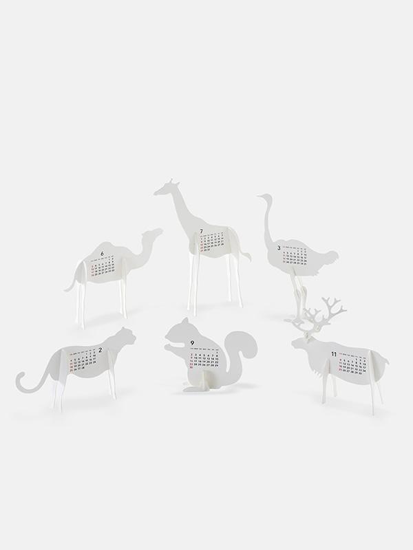 Zoo Weekly Calendar : Zoo calendar paper craft kit moon picnic