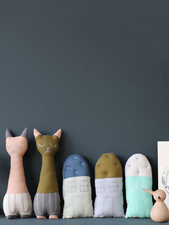 handmade baby nursery cushion by Camomile London