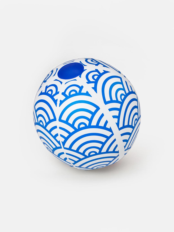 Beach Ball - Blue Wave
