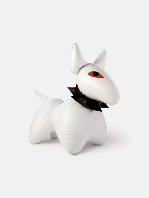 Inflatable Dog – BULÍK – White