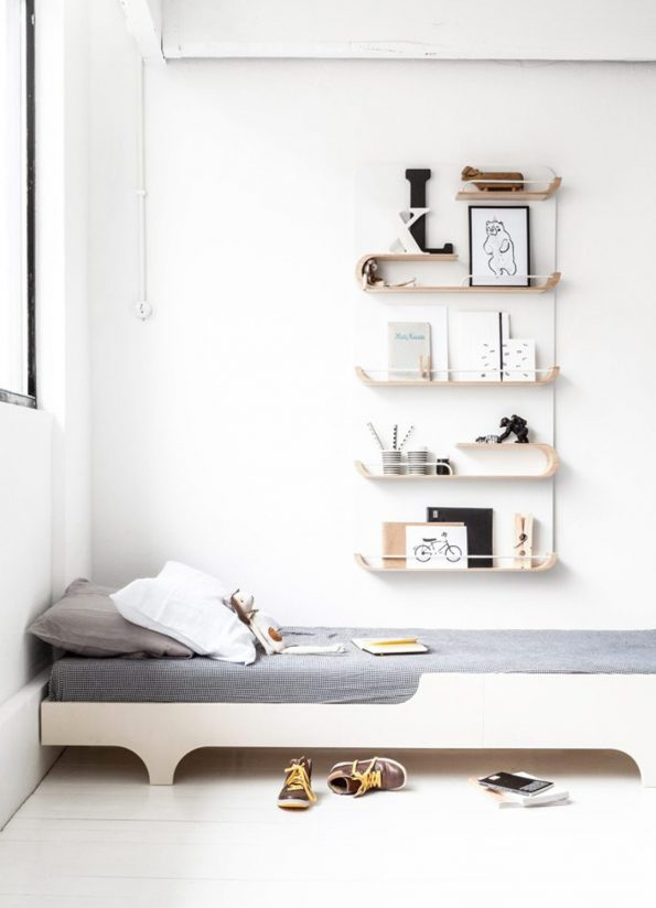 XL Shelf – Natural / White