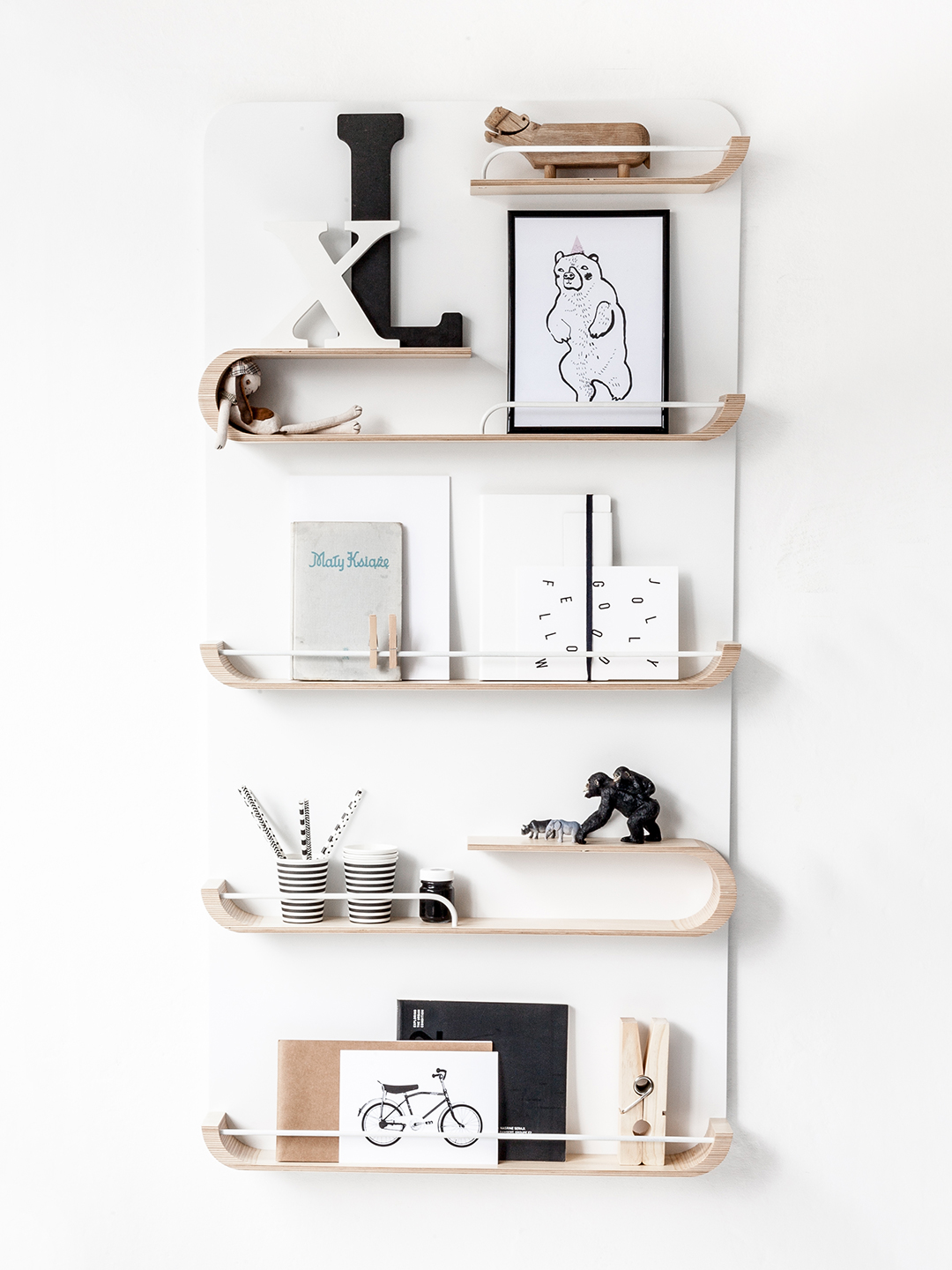XL Shelf - Natural / White