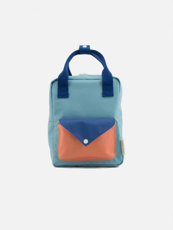 Small Backpack  – Envelope Denim Blue