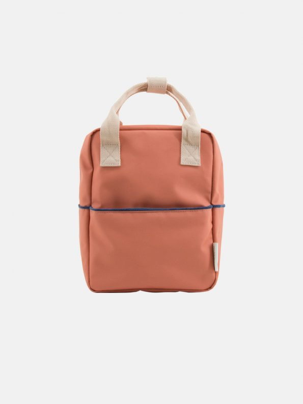 Small Backpack – Teddy Rusty Red