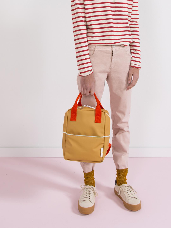 Small Backpack - Teddy Caramel Fudge