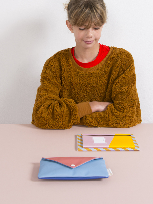 Pencil Case - Envelope Denim Blue