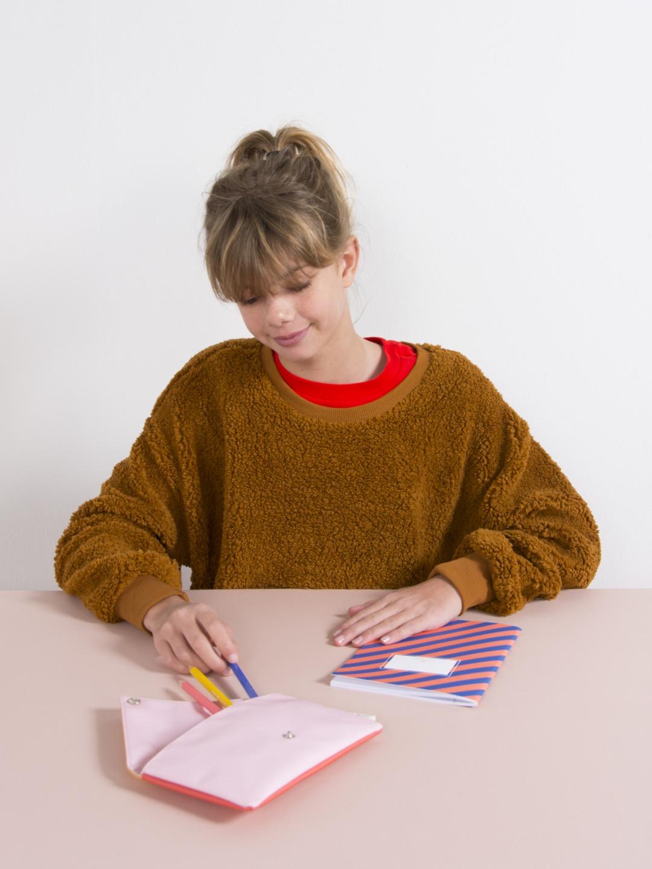 Pencil Case - Envelope Soft Pink