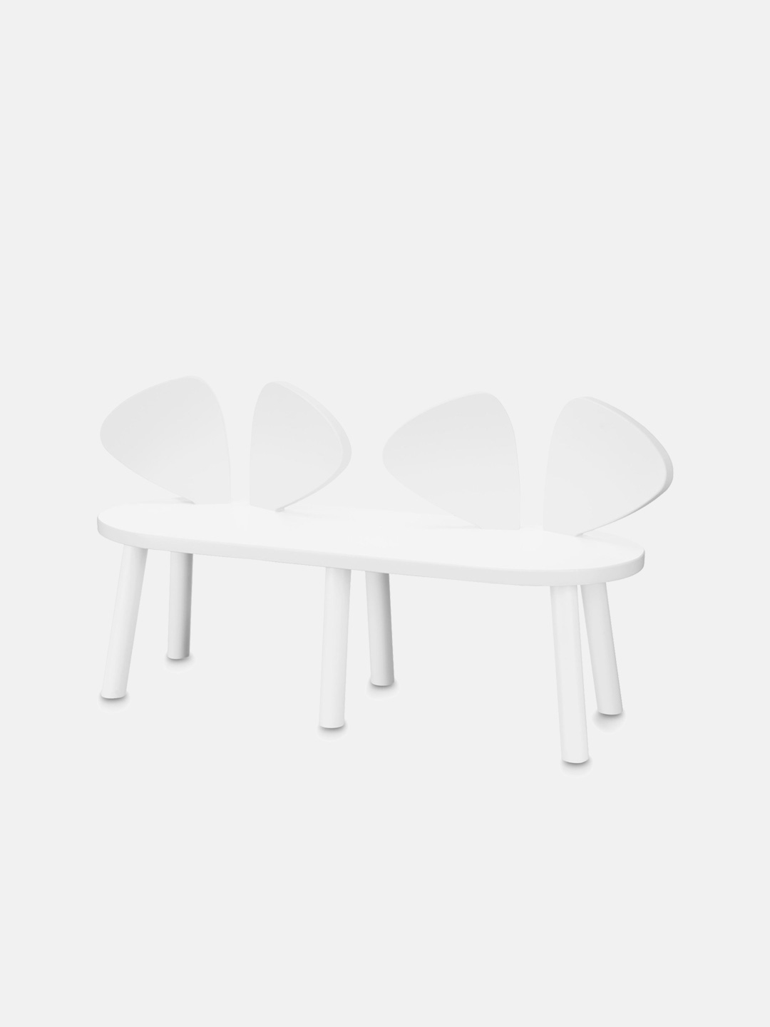 Mouse Bench - White
