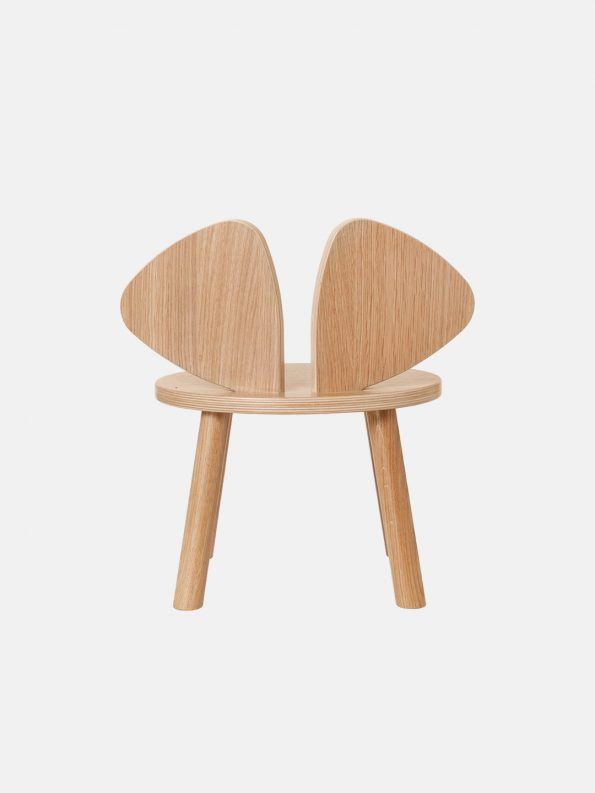 Mouse Chair – Lacquered Oak
