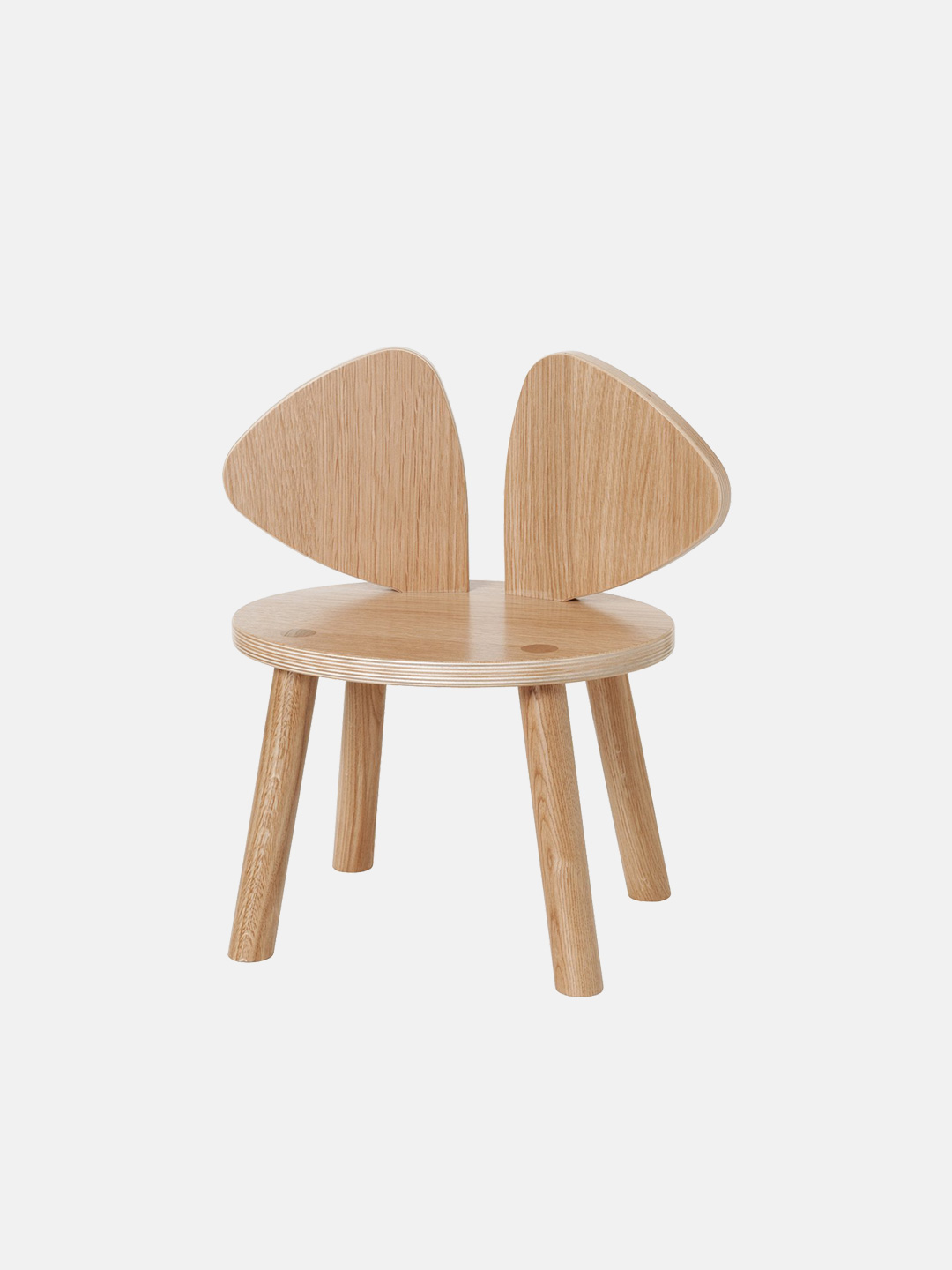 Mouse Chair - Lacquered Oak