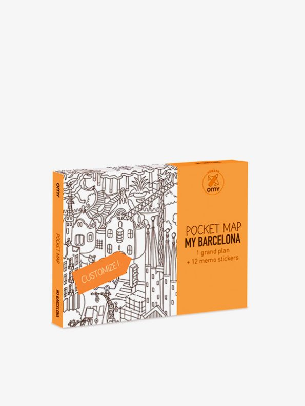 OMY Pocketmap Barcelona