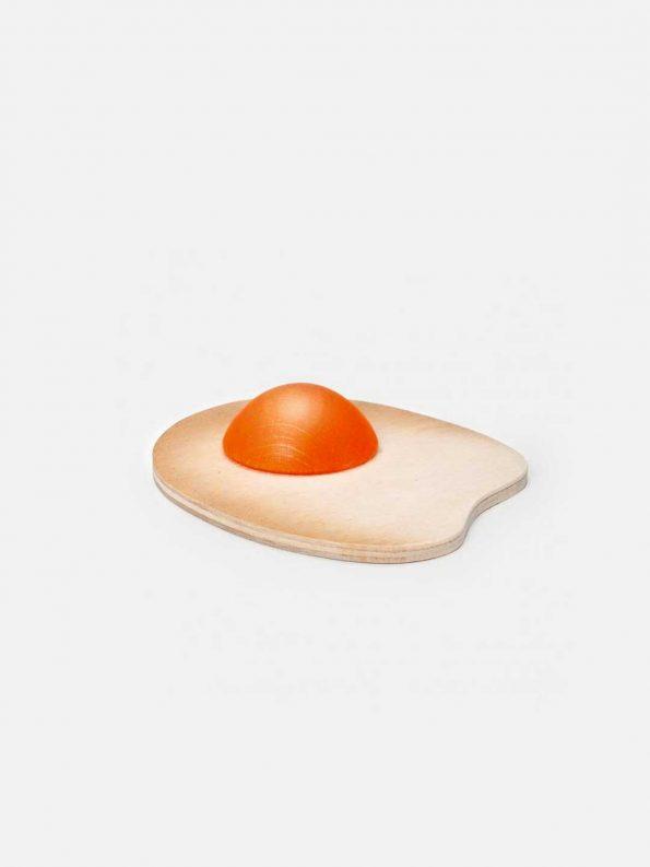 Wooden Food – Fried Egg Sunny-side Up