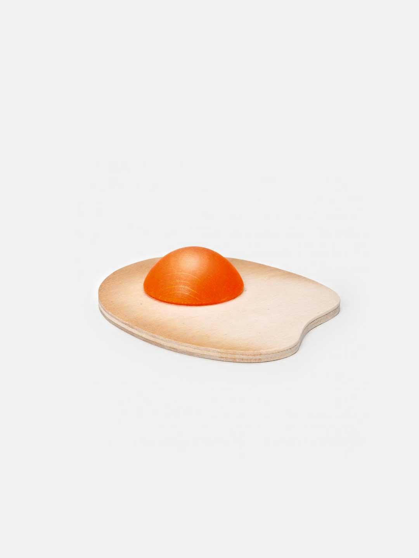Wooden Food - Fried Egg Sunny-side Up