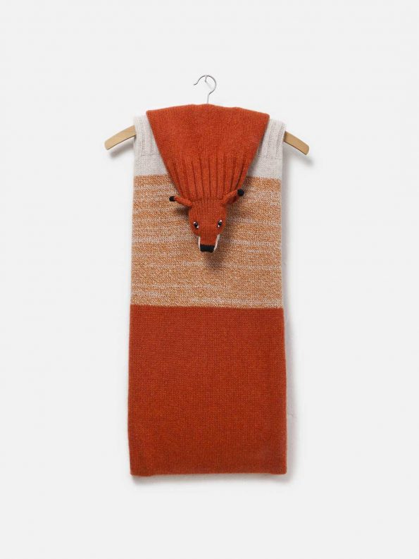 Red Fox Lambswool Stole