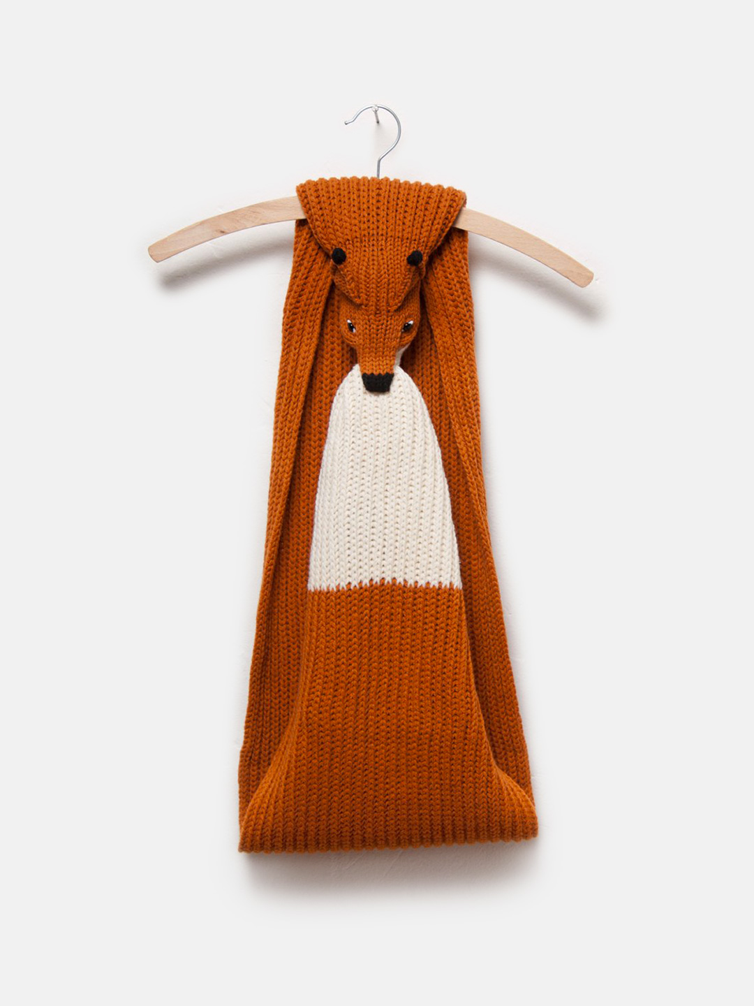 Kids Red Fox Merino Scarf