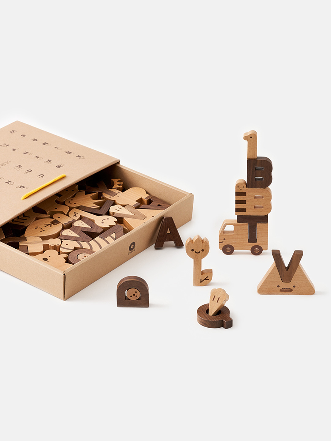 Alphabet Play Block Set