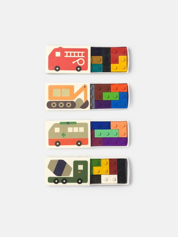 Pocket Crayon Blocks – Cars