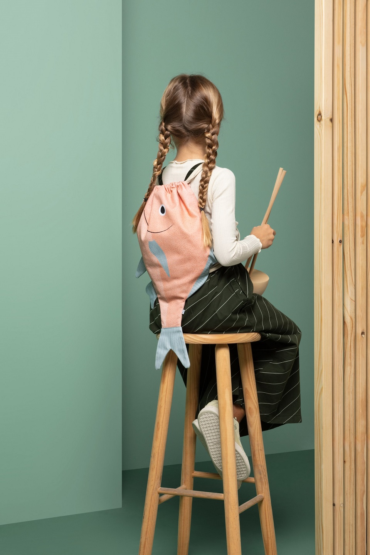 Silver Biddy Kids Backpack - Pink