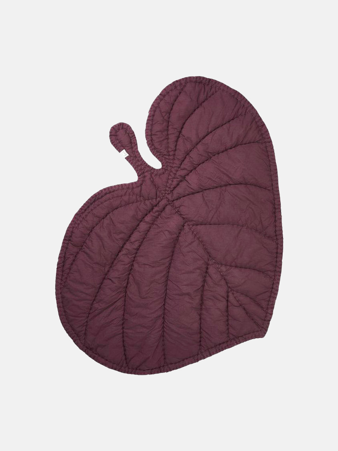 Leaf Blanket - Burgundy