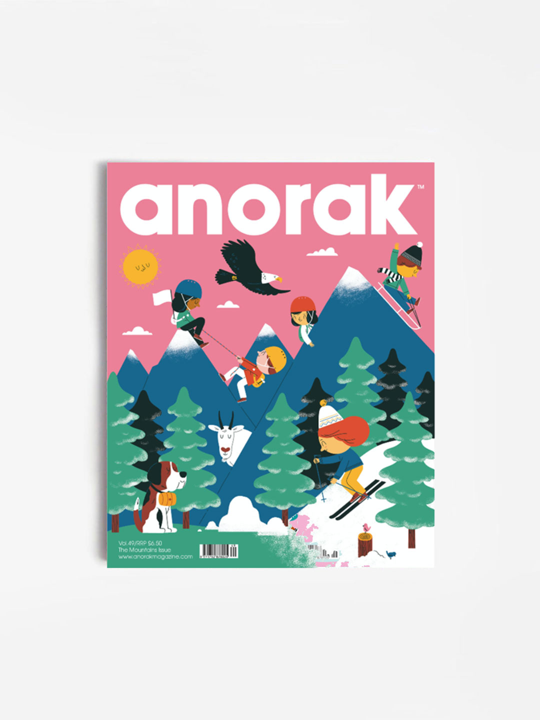 Anorak Magazine - Mountains