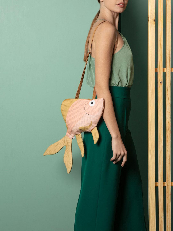 Pink Goldenfish Bag