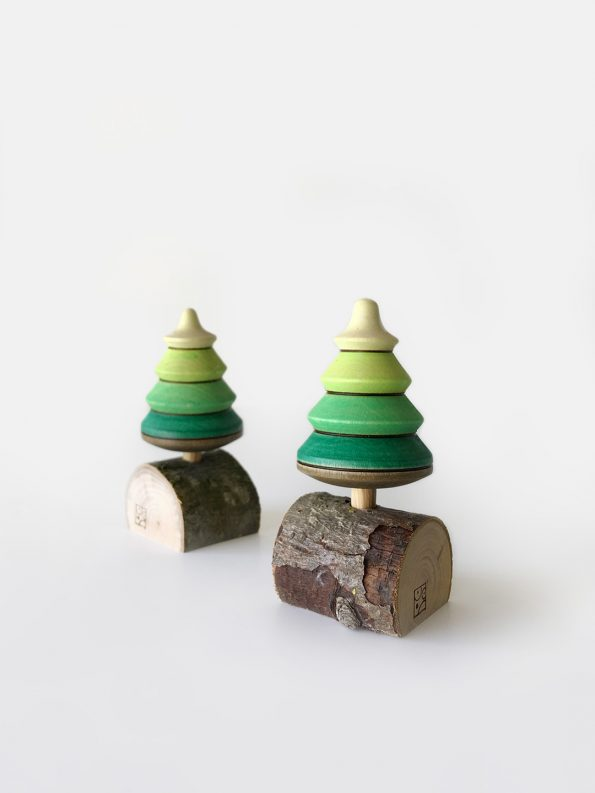 Fir Tree Spinning Top