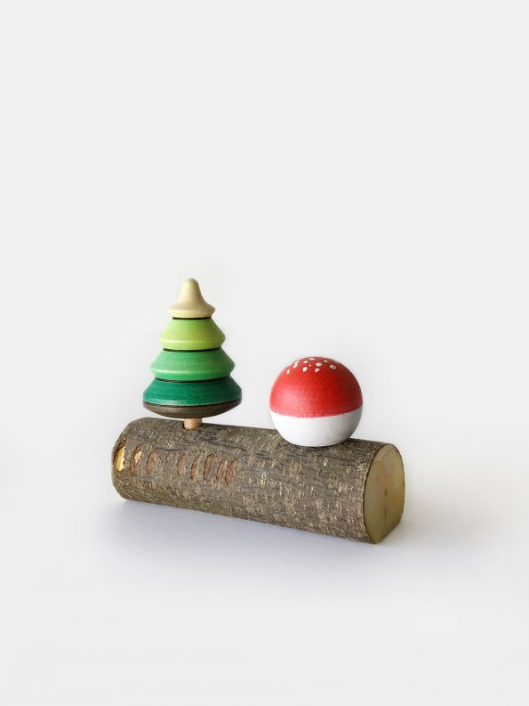 Forest Spinning Top Set