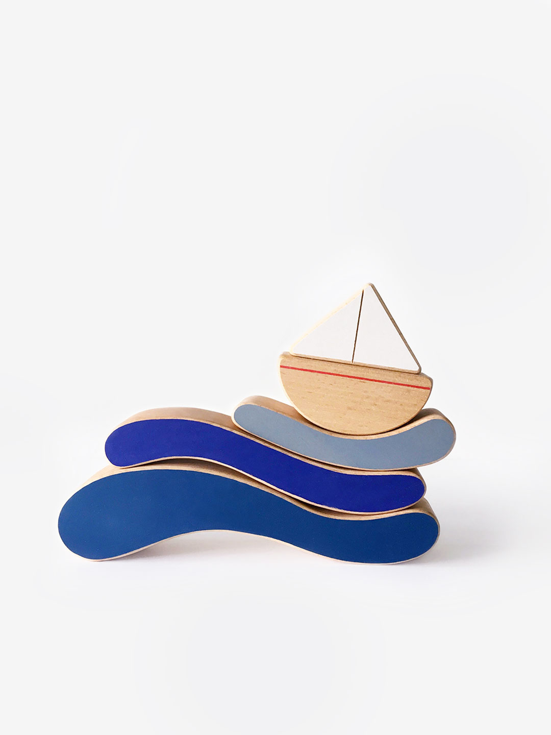 Boat & Waves Stacking Toy