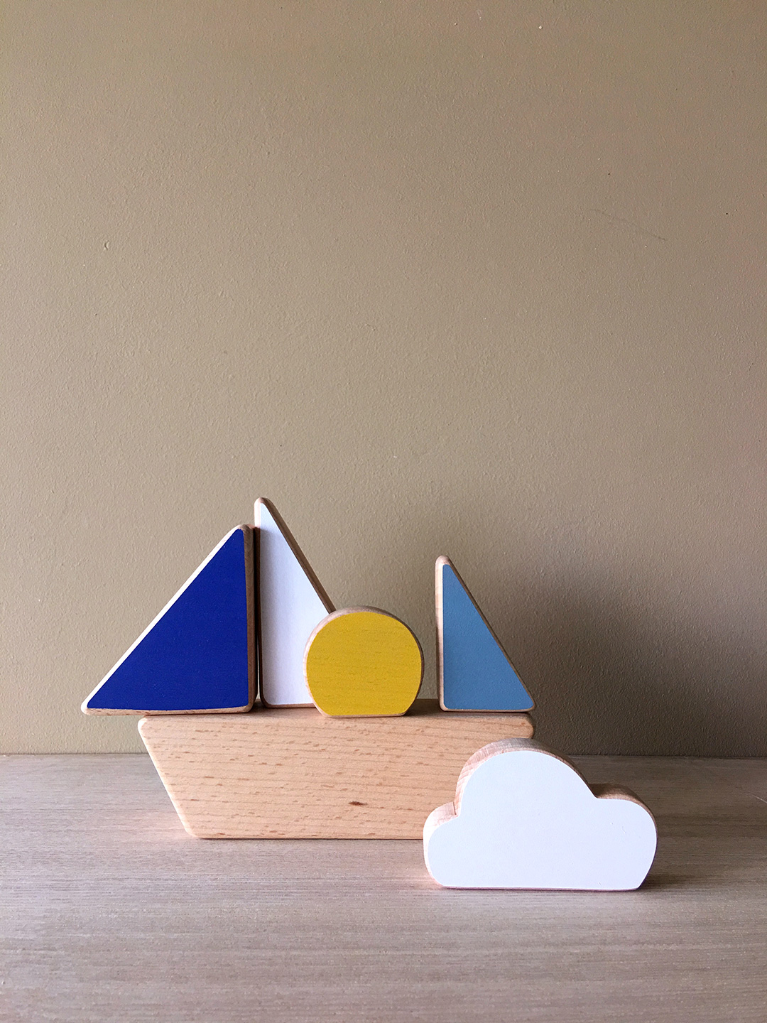 Boat Stacking Toy