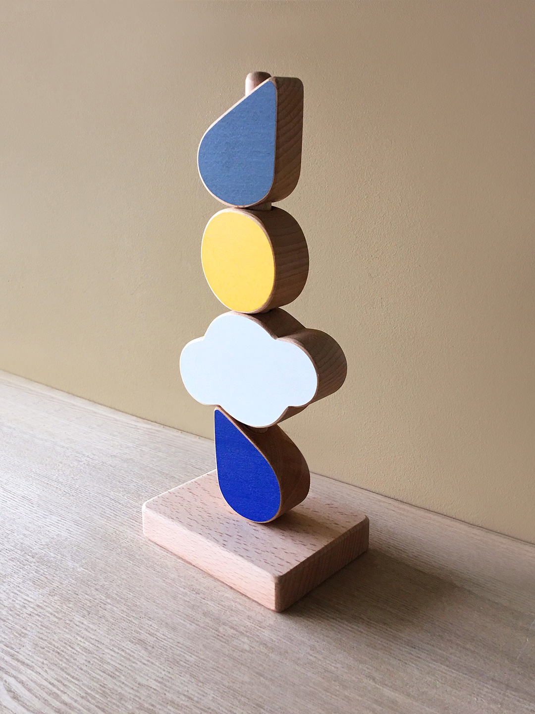 Catch The Cloud Stacking Toy