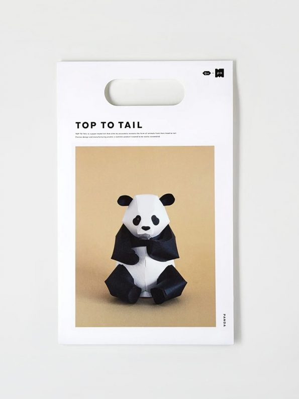 Top To Tail Paper Model Kit – Panda