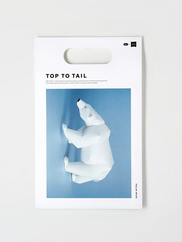 Top To Tail Paper Model Kit – Polar Bear