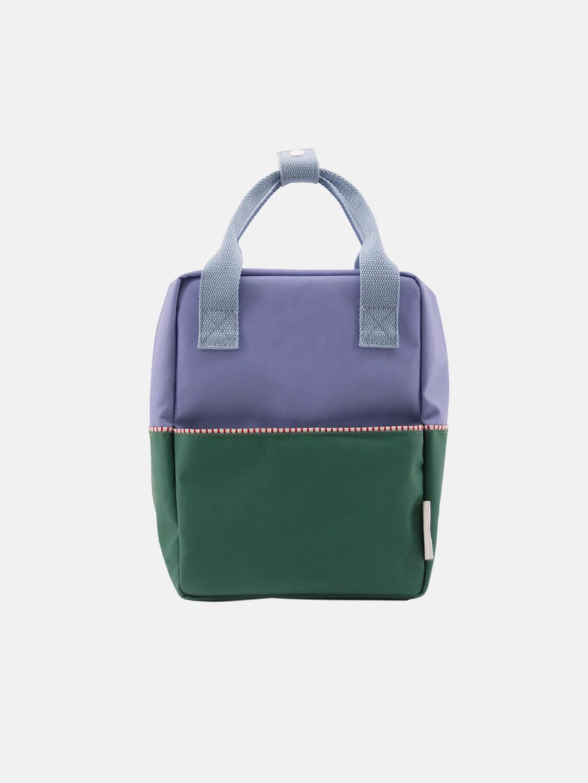 Small Backpack Color-block - Moustafa Purple