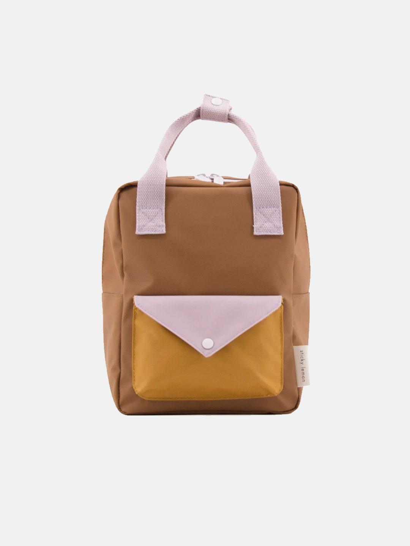 Small Backpack Envelope - Sugar Brown