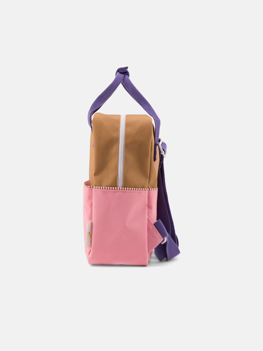 Small Backpack Color-block - Panache Gold