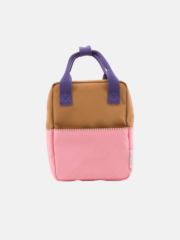 Small Backpack Color-block – Panache Gold