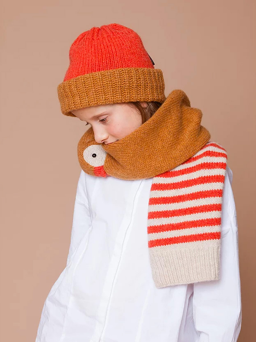 Kids Duck Merino Scarf