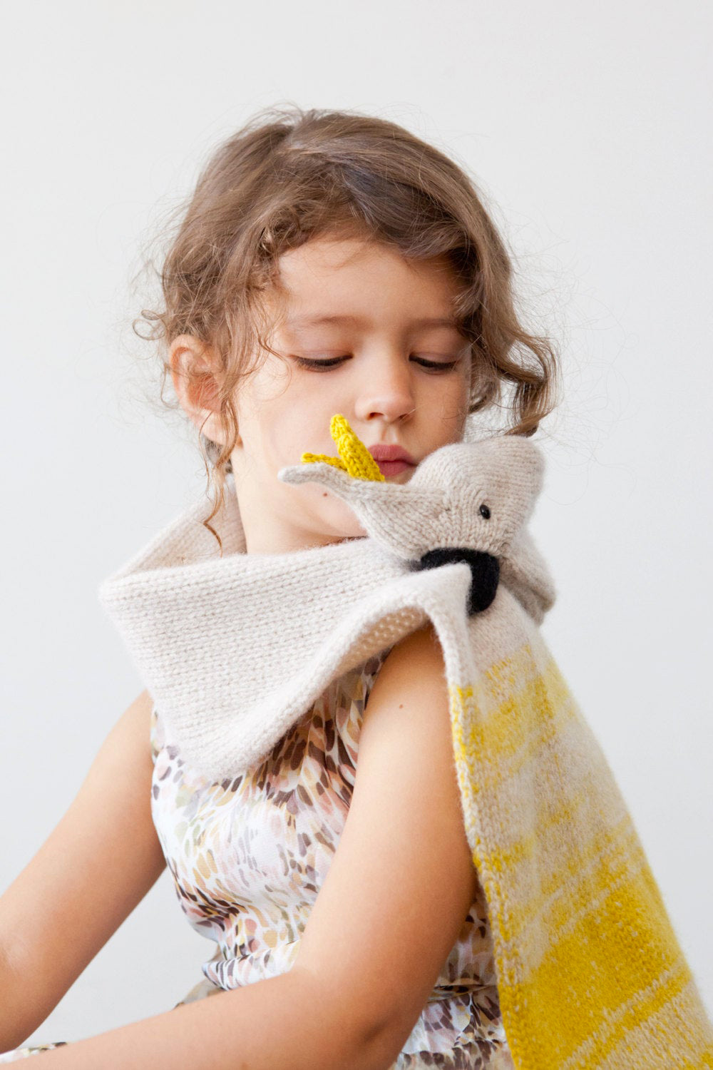 Kids Cockatoo Merino Scarf