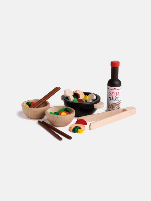 Wooden Food – Japanese Food Party Set