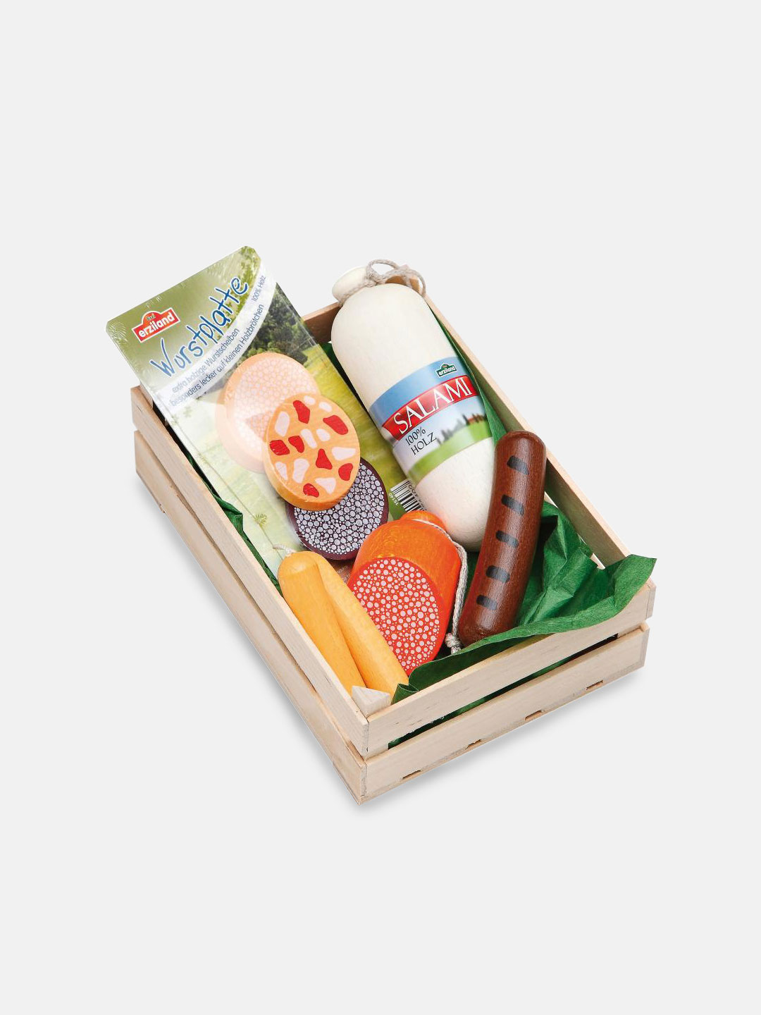 Wooden Food - Assorted Sausages