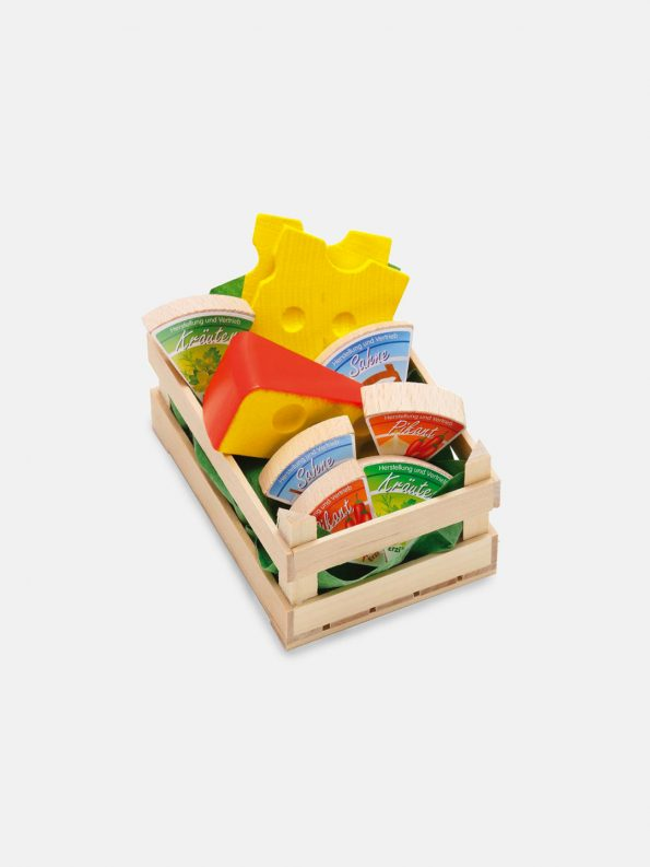 Wooden Food – Small Assorted Cheese