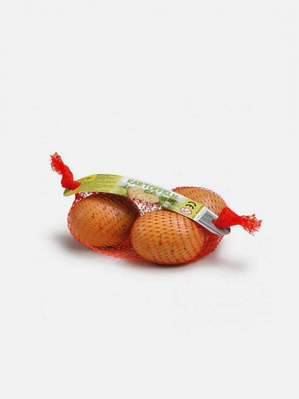 Wooden Vegetable – Potatoes in a Net