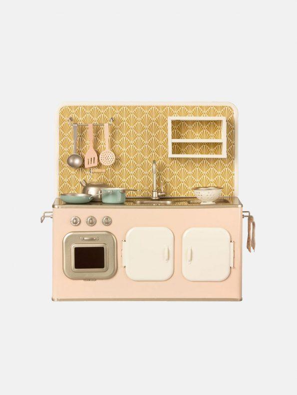 Powder Pink Kitchen