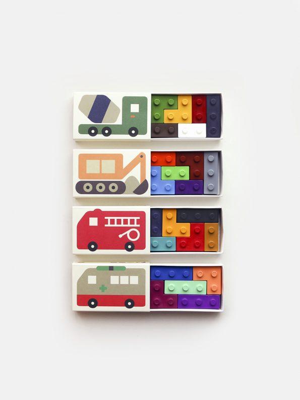 Pocket Crayon Blocks – Cars